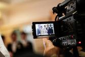 Wedding Recording — Stock Photo