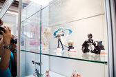 Anime Toy Figurine Showcase — Stock Photo