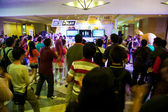 Dance and Singalong in Anime Festival Asia - Indonesia 2013 — Stock Photo