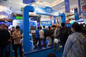 Intel Stand in Indo Game Show 2013 — Stock Photo