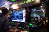 Nvidia in Indo Game Show 2013 — Stock Photo