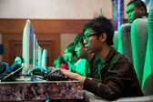 Video Game Competition on Indo Game Show 2013 — Stock Photo