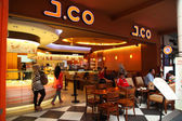 J.Co Donuts & Coffee — Stock Photo