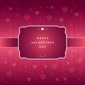 Happy Valentine Greeting — Stock Vector