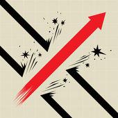 Prolomení — Stock vektor