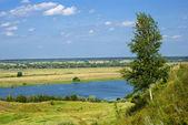 Russian landscape — Stock Photo