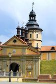 Nesvizh castle in Belarus — Stock Photo