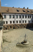 Well in Mir castle — Stock Photo