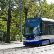 Tram in Riga — Stock Photo