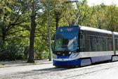 Tram in Riga — Stock Photo