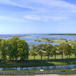 View from the castle of Kuressaare — Stock Photo