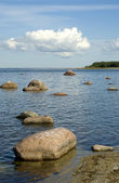 The Baltic coast — Stock Photo