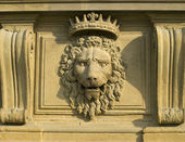 Bas-relief on the Palazzo Pitti, Florence — Stock Photo