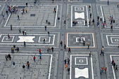 View from the Duomo Cathedral — Stockfoto