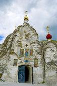 Kostomarovsky Svyato-Spassky monastery for women — Stock Photo