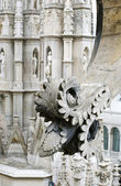 Stone lace Milan Cathedral — Foto Stock
