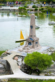 Italy in miniature, mini-Park, Rimini  — Stock Photo