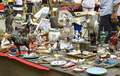 Exhibition-fair of Antiques — Stock Photo