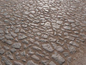 The texture of the stone road — Stock Photo