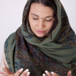 Young beautiful muslim woman — Stock Photo #11509630
