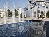 Saint Sava temple in Belgrade — Stock Photo