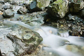 Water over rocks — Stock Photo