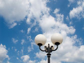 Light in the sky — Stock Photo