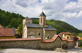 Serbian Orthodox Monastery Raca — Stock Photo