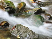 Stream rocks — Stock Photo