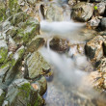 Stream rocks — Stock Photo