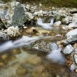 Stream rocks - Stock Photo