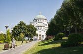 St. Sava church in Belgrade — Stock Photo