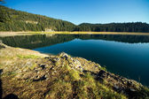 Reflection in water of lakes — Stock Photo