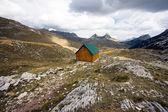 Bellissima vista della montagna — Foto Stock