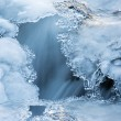 Stock Photo: Winter mountain river