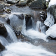Winter and water — Stock Photo