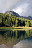 Beautiful lake the mountain — Stock Photo