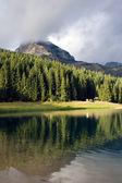 Mooie meer de berg — Stockfoto