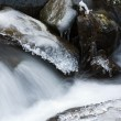 Royalty-Free Stock Photo: Mountain stream in winter