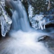 Mountain stream in winter — Stock Photo #20785913