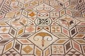 Mosaic floor in the Roman ruin Italica — Stock Photo