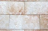 Wall with sandstone blocks typical of Puglia — Stock Photo