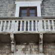 Historic balcony renaissance - Bisceglie - Apulia- Italy — Stock Photo