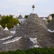 Panorama of Alberobello, Apulia (Italy). — Stock Photo