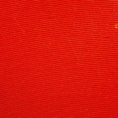 Close up of a red vinyl microgroove — Stock Photo