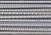 Construction site - Background bars steel — Stock Photo
