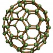 Stock Photo: Isolated C70 Fullerene