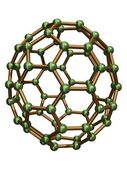Isolated C70 Fullerene — Stock Photo
