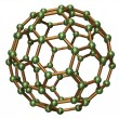 Stock Photo: Isolated C80 Fullerene