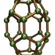 Stock Photo: Isolated C30 Fullerene